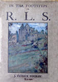 An Illustration of Craigmillar Castle on the cover of J Patrick Finlay's book 'In the Footsteps of RLS '