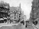 Photograph from View Album of Edinburgh & District, published by Patrick Thomson around 1900  -  John Knox House