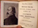 Book published by Valentine & Sons, around 1914 -  Rose Series  -  Selection from the Ballads, Poems and Songs of Alfred Lord Tennyson