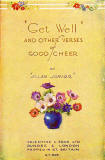 The cover of a small book in Valentine's 'Golden Thoughts' series of booklets  -  Get Well!