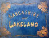 Book published by Valentine & Sons Ltd  -  Lancashire and Lakeland  -  Book Cover
