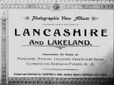 Book published by Valentine & Sons Ltd  -  Lancashire and Lakeland  -  Frontispiece