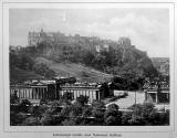Photographic View Album of Edinburgh - Photograph of Edinburgh Castle and National Galleries