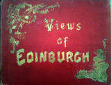 Photographic View Album of Edinburgh - Cover