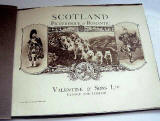 Book published by Valentine & Sons Ltd  -  Scotland Picturesque and Romantic