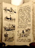 A children's 'book toy' by Valentine & Sons Ltd  -  'The Story of the Motor Car'  -  Pages 2-3