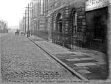 Assembly Rooms, Constitution Street, Leith  -  Railings removed 1910