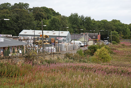 The site of Bankfield Cottages at The Wisp, Edinburgh  -  Photo taken August 2014