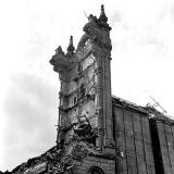 Chancelot Mill, Bonnington, Remains of the Clock Tower - 1971
