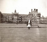 City Hospital Nurse Barbara and Nurses' Home  -  photo taken around 1948-52