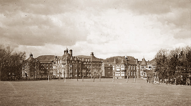 The City Hospital Buildings  -  photo taken around 1948-52