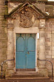 School Door (left) of Craiglockhart Primary School, Ashley Terrace, North Merchiston  -  Photograph taken 2006