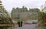 Edinburgh Castle from the entrance to the esplanade - 1962