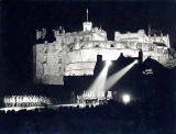 Edinburgh Tattoo, performed on the Esplanade at Edinburgh Castle  -  1949