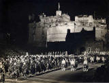 Edinburgh Tattoo, performed on the Esplanade at Edinburgh Castle  -  1951