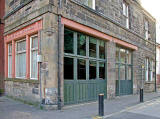 The former fire station beside Dr Bell's School, Leith