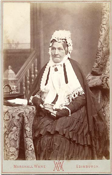 Marshall Wane  -  Cabinet Print  -  Elderly Lady