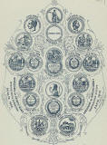 Marshall Wane  -  Medals displayed on the back of one of his cabitnet prints