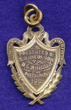 Gold Medal awarded for photography to D L Monair at the Edinburgh Industrial Exhibition 1901