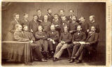 James Howie Junior  -   carte de visite  -  Group of 20 men