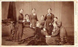 Carte de visite by James Howie Junior  -  a group of eight