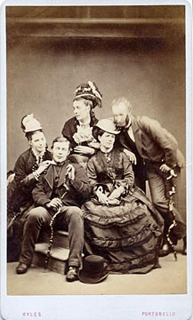 Carte de visite  -  Kyles  -  34 Bath Street  -  Group