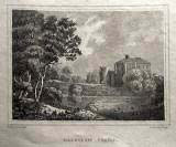 "Dalhousie Castle  -  ""Beauties of England & Wales""  -  zoom-in"