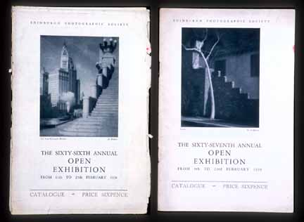 EPS Exhibition Catalogues  -  1928, 1929
