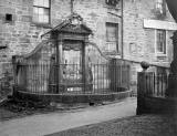 EPS Survey Section photograph - Greyfriars Churchyard - Gravestone/Monument against the SE Wall  -  JC Mckechnie, 1912