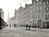 EPS Survey Section photograph - Buccleuch Street  -  JF Duthie, 1912
