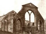 EPS Survey Section photograph  -  Ruins of Greyfriars Church, following the fire of 1845  -  DO Hill, 1845-47