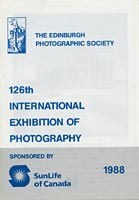 Catalogue for EPS International Exhibition  -  1988