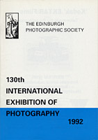 Catalogue for EPS International Exhibition  -  1992
