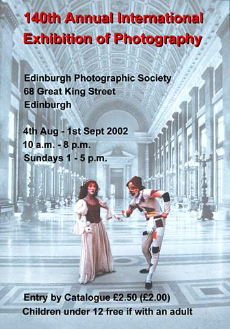 Edinburgh Photographic Society - 140th Annual International Exhibition of Photography