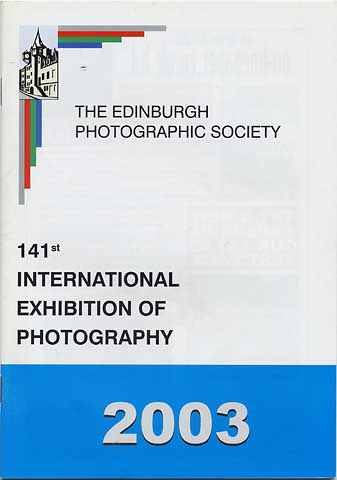 Catalogue for EPS International Exhibitiion  -  2003