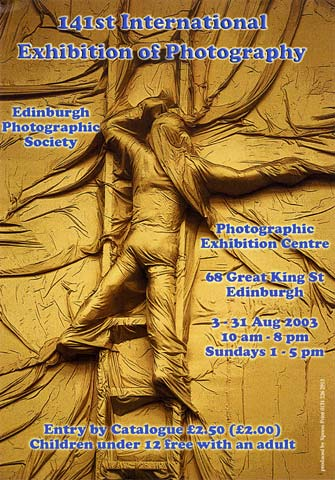 Edinburgh Photographc Society  -  2003  -  141st International Exhibition of Photography  -  Photograph by Martin Reece