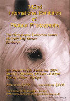 Edinburgh Photographc Society  -  2004  -  Poster for 142nd International Exhibition of Photography