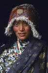 Tibetan Woman  -   A photograph in Steve McCurry in his exhibition, Images from Afghanistan