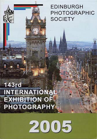 Edinburgh Exhibition Catalogue for the 2005 Exhibition