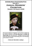 Edinburgh Photographic Society - International Exhibiition of Phtography  -  2008