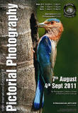 A poster for the EPS International Exhibition of Photography 2011, featuring a photo by KM Narayanaswamy, ARPS, AFIAP