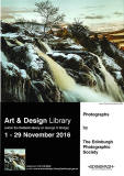 Exhibition of prints by Members of Edinburgh Photographic Society  -  in the Fine Arts Dept of Edinburgh Central Library, George IV Bridge, Edinburgh, November 2014