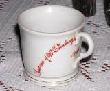 International Exhibition of Science and Art, 1886  -  Souvenir Mug