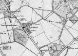 Ordnance Survey Map, 1852, showing Echo Bank, Newington