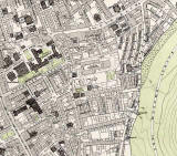 Edinburgh Old Town  -  Extract from a Bartholemew Map, 1891  -  Dumbiedykes
