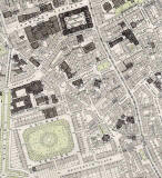 Edinburgh Old Town  -  Extract from a Bartholemew Map, 1891  - South Side