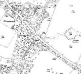 Map extract  1914  -  Greenend and Moredun Mill