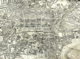 Map of Edinburgh by John Bartholomew  -  1925