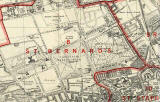 Edinburgh and Leith map, 1940  -  Inverleith section