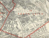 Edinburgh and Leith map, 1940 -  Leith Links section
